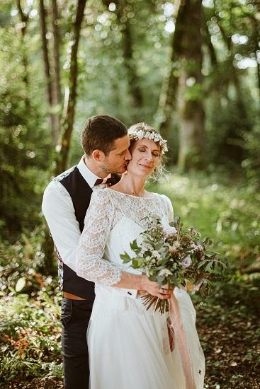 Séance couple photographe mariage au Haras du Reuzel - Orgères